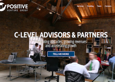 Postive Venture Group, Website Design and Development